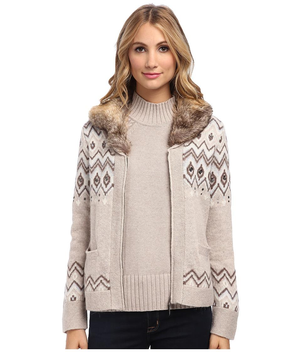 Pendleton - Larch Mt Cardigan (Soft Brown Multi) Women's Sweater