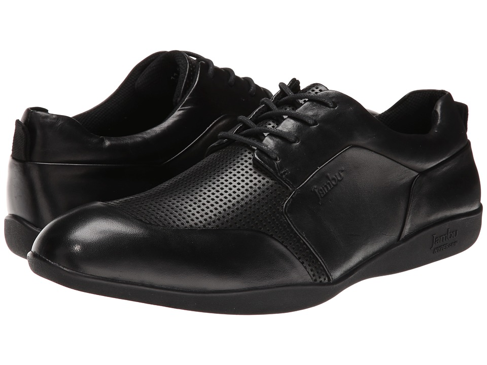 Jambu - Munich - Hyper Grip (Black) Men's Dress Flat Shoes