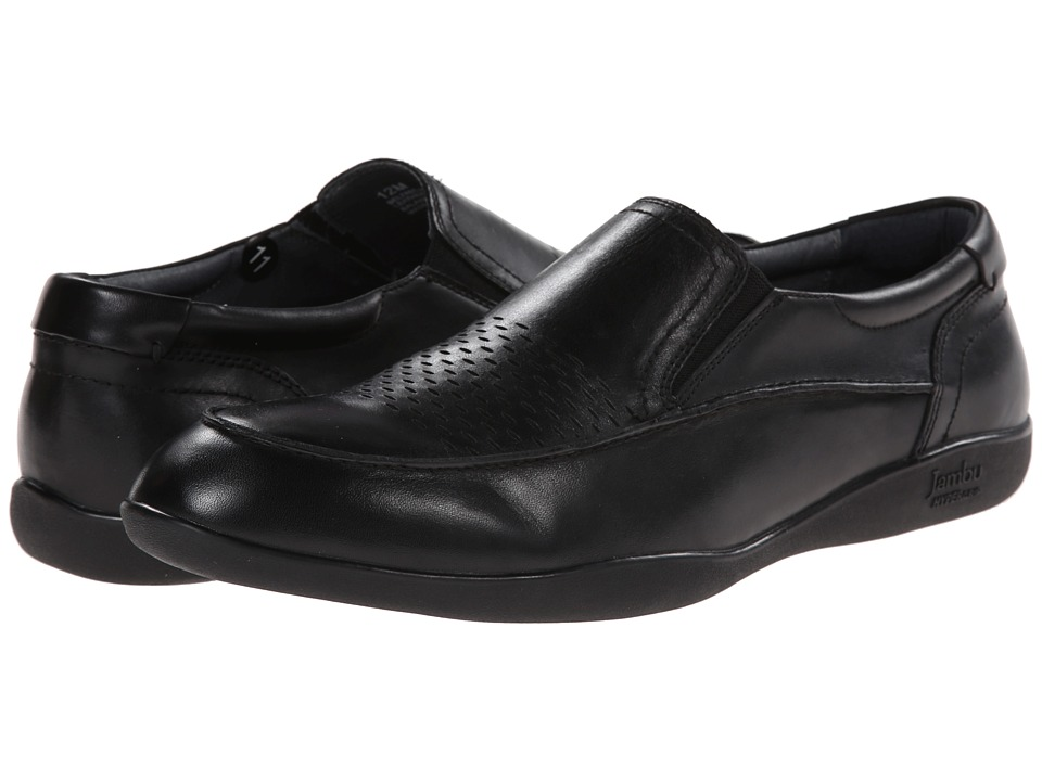 Jambu - Belfast - Hyper Grip (Black) Men's Dress Flat Shoes