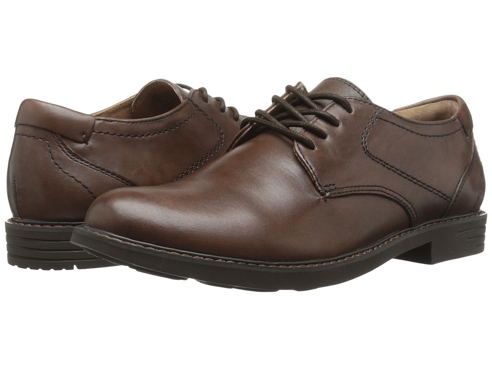 Jambu - New York - Hyper Grip (Brown) Men's Dress Flat Shoes