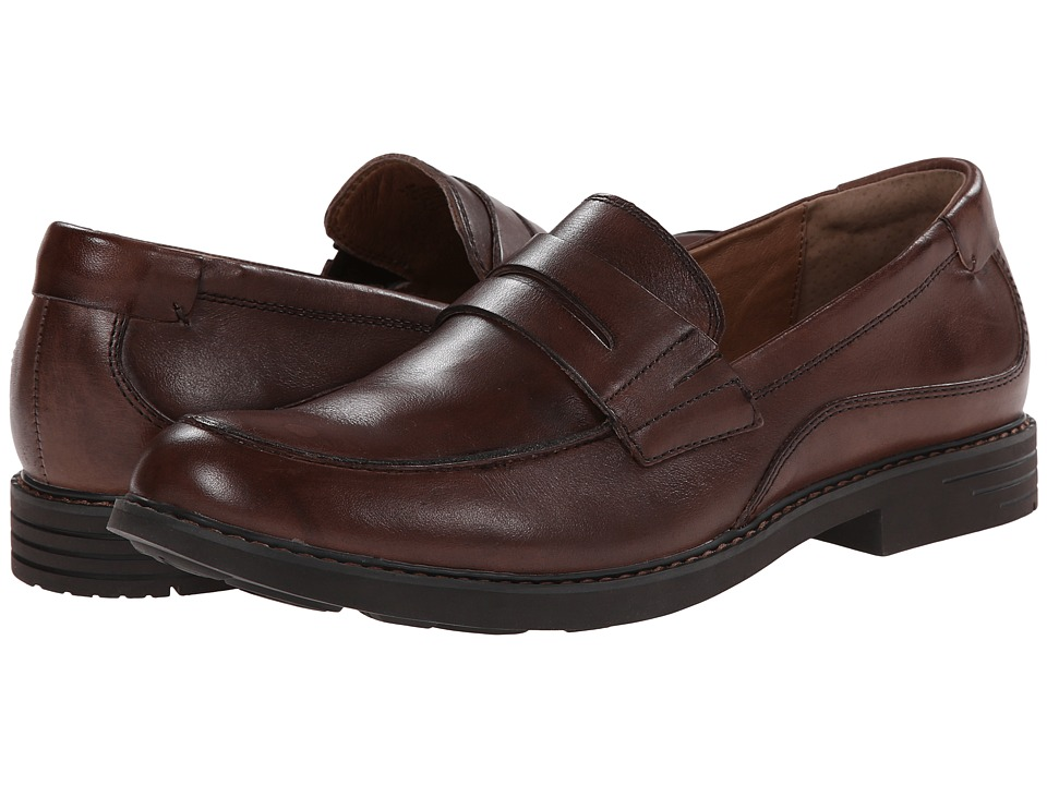 Jambu - Chicago - Hyper Grip (Brown) Men's Slip on Shoes