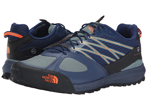 The North Face - Verto Approach II (Estate Blue/Power Orange) Men's Shoes
