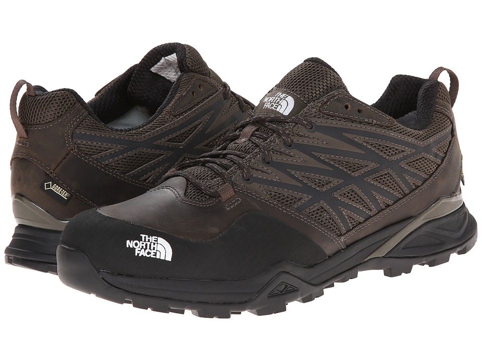 The North Face - Hedgehog Hike GTX (Weimaraner Brown/TNF Black) Men's Shoes