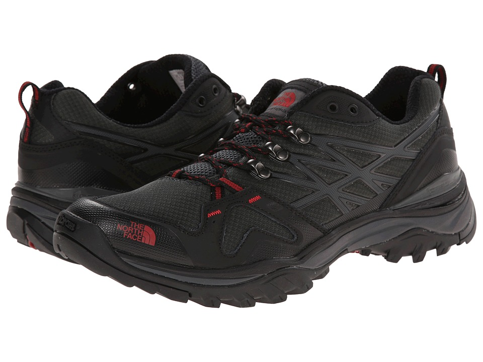 The North Face - Hedgehog Fastpack (TNF Black/Rosewood Red) Men's Shoes