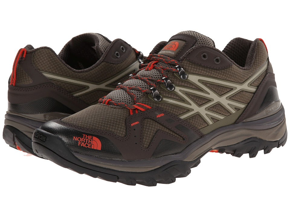 The North Face - Hedgehog Fastpack (Coffee Brown/Zion Orange) Men's Shoes