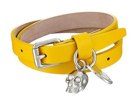 Alexander McQueen - Double Wrap Bracelet (Yellow) Bracelet