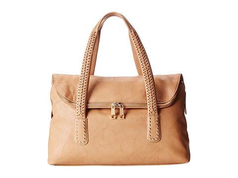 Big Buddha - Mabel (Camel) Satchel Handbags