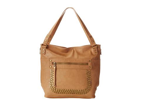 Big Buddha - Barry (Camel) Satchel Handbags