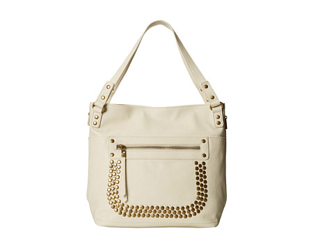 Big Buddha - Barry (Bone) Satchel Handbags