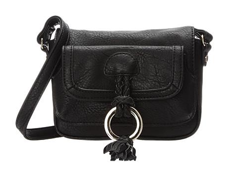 Big Buddha - Kaden (Black) Cross Body Handbags
