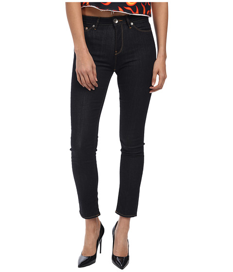 LOVE Moschino - Logo Pocket Skinny Jean (Dark Denim) Women