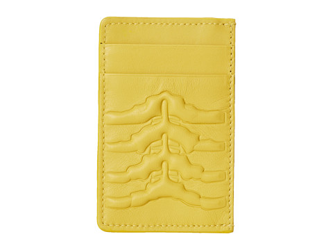 Alexander McQueen - Card Holder (Yellow) Credit card Wallet