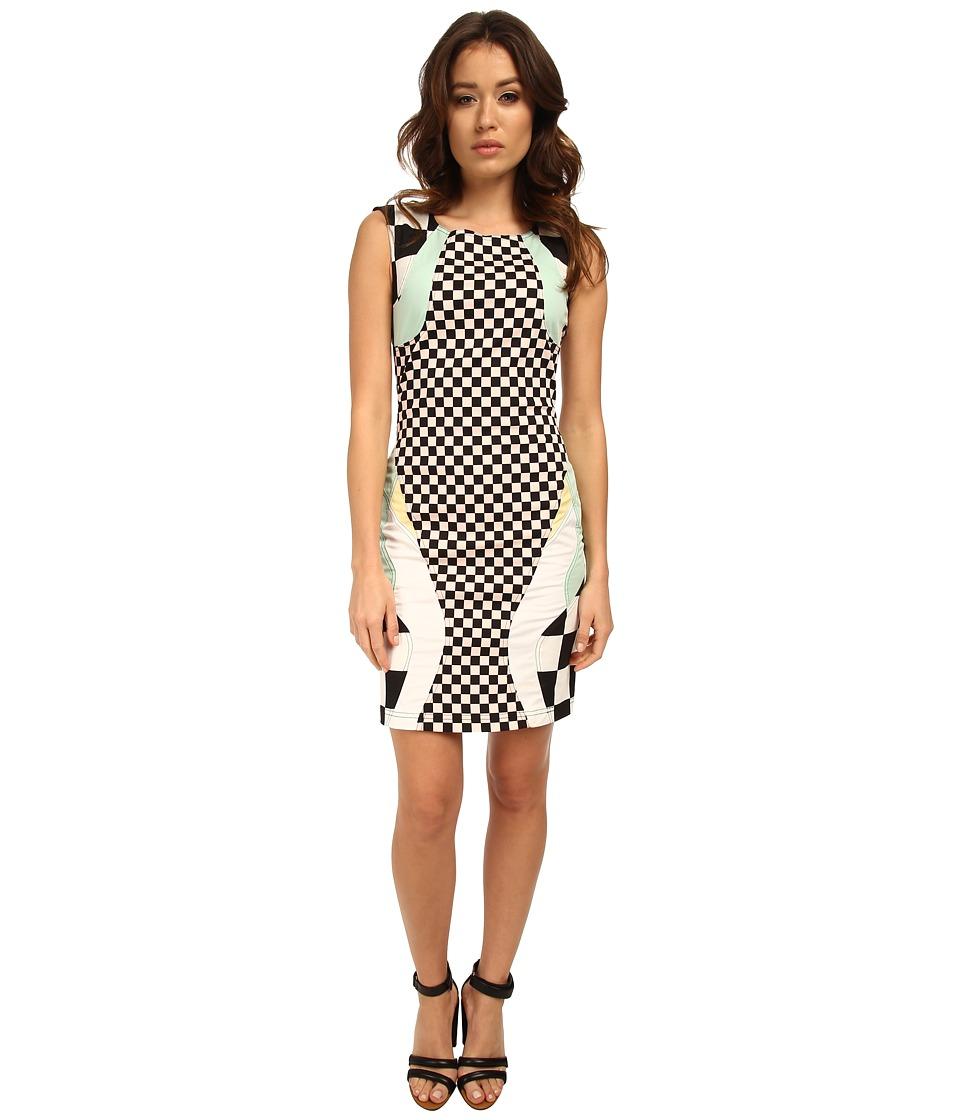 LOVE Moschino - Moto Print Sleeveless Dress (Multi) Women's Dress