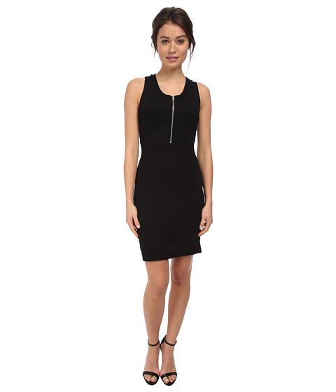 LOVE Moschino - Cross Back Sleeveless Dress (Black) Women