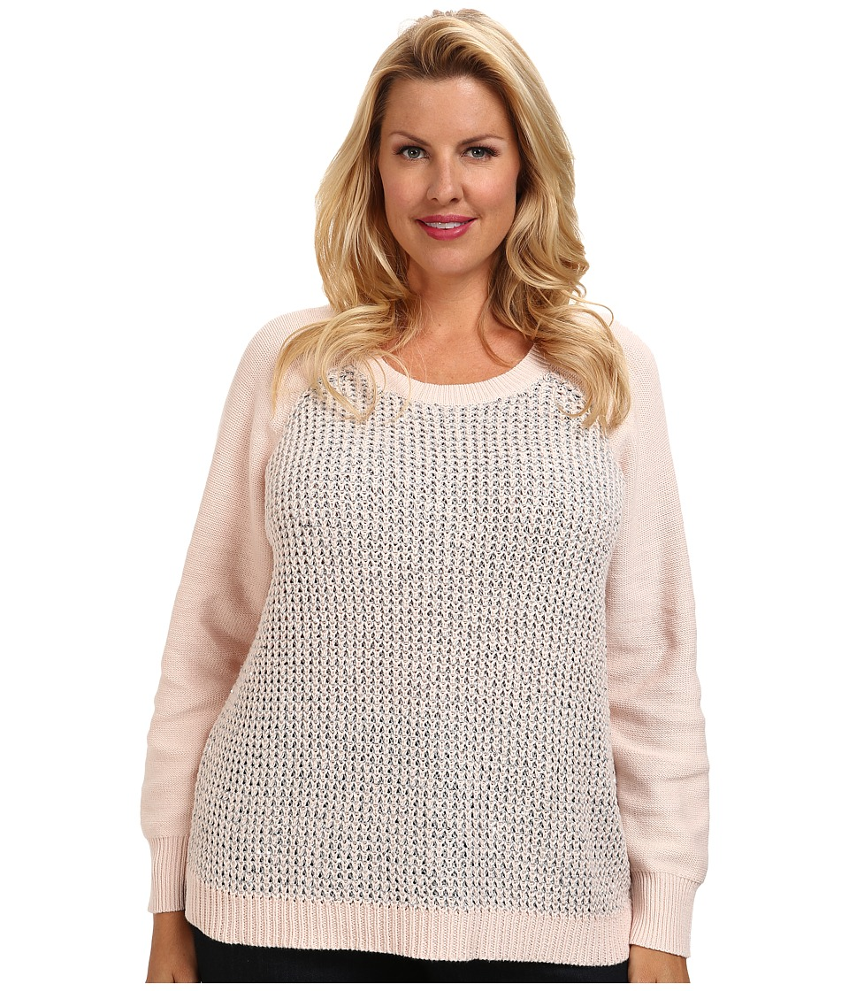 NYDJ Plus Size - Plus Size Key Item Sequin Sweater (Pixie) Women's Sweater plus size,  plus size fashion plus size appare