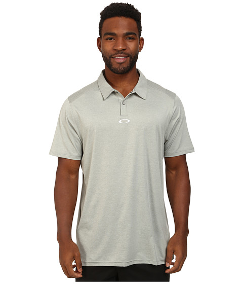 Oakley - Newlyn Polo (Stone Grey) Men's Short Sleeve Knit