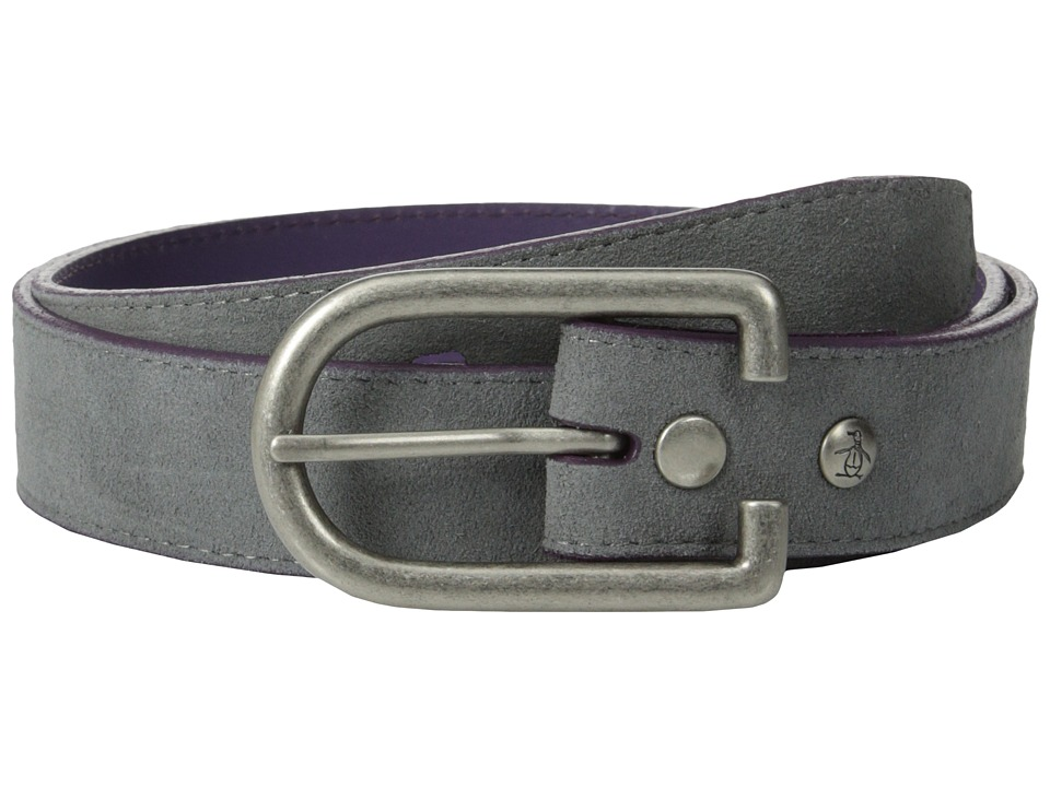 original penguin suede leather belt dress blues s