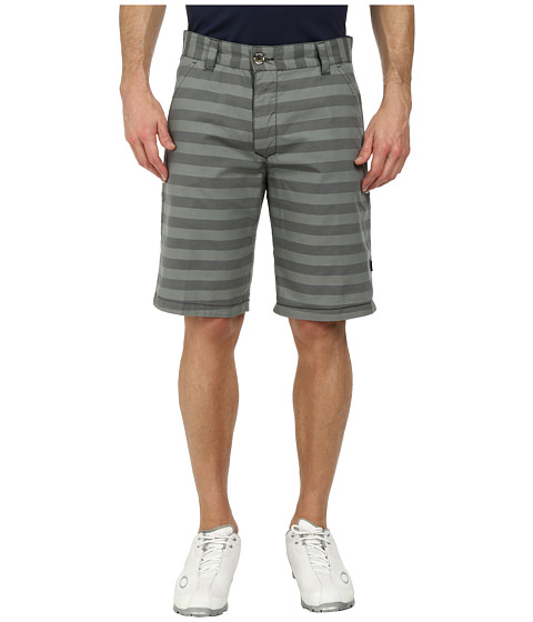 Oakley - Addison Reversible Short (Graphite/Stripe) Men's Shorts