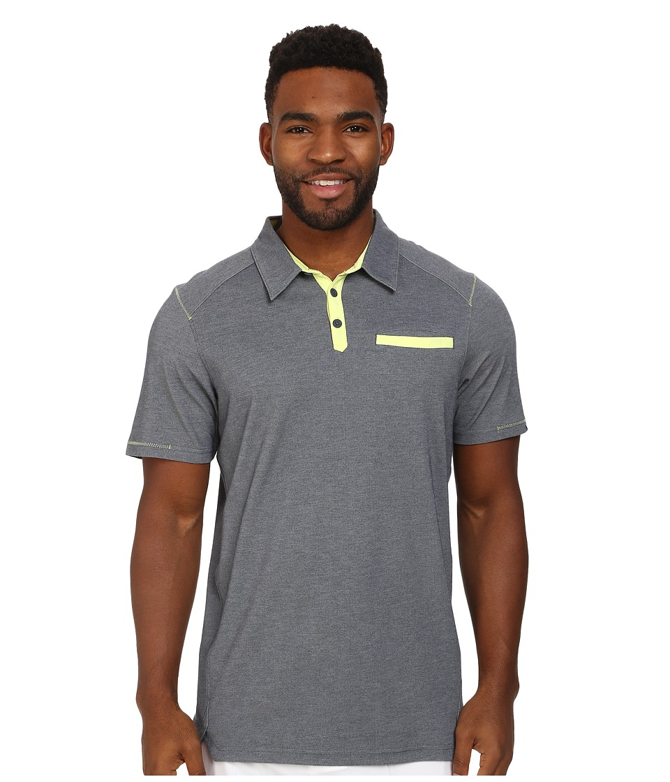 Oakley - Coleman Polo (Graphite) Men's Short Sleeve Pullover