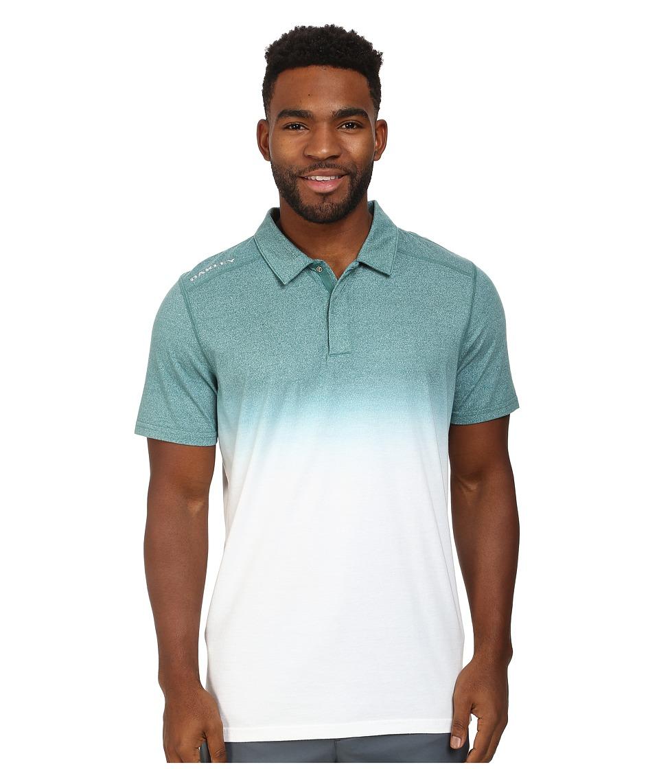 Oakley - Conley Polo (Green Slate) Men's Short Sleeve Pullover