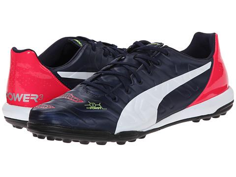 PUMA - Evopower 3.2 Turf Trainer (Peacoat/White/Bright Plasma) Men's Shoes