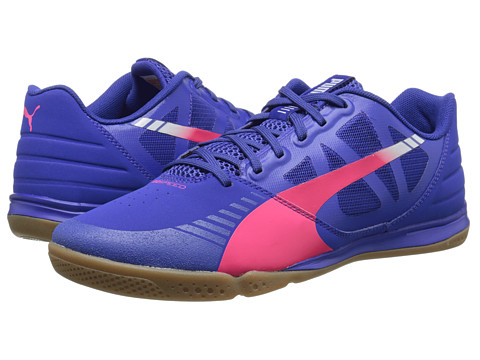 PUMA - Evospeed Sala (Clematis Blue/Bright Plasma/Gray Dawn) Men's Shoes