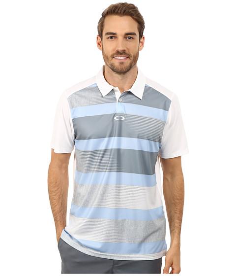 Oakley - Derek Polo (Mist Blue) Men's Short Sleeve Pullover