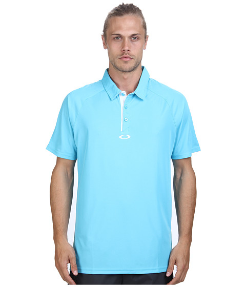 Oakley - Elemental 2.0 Polo (Brillant Blue) Men's Short Sleeve Pullover