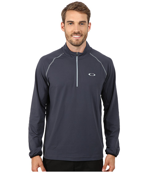 Oakley - Theo 1/4 Zip (Graphite) Men's Clothing