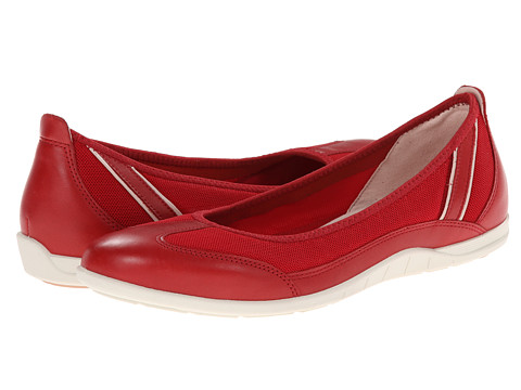 ECCO - Bluma Summer Ballerina (Chili Red) Women