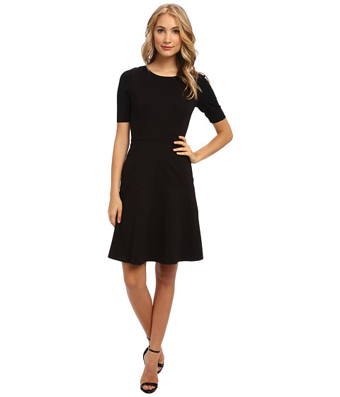 Elie Tahari - Maria Dress (Black) Women