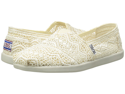 BOBS from SKECHERS - Bobs World - Dream Catcher (Natural) Women's Slip on Shoes