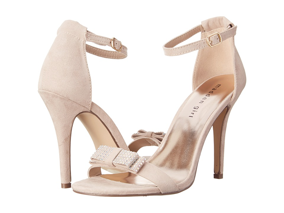Madden Girl Darlaaa (Taupe Fabric) Women