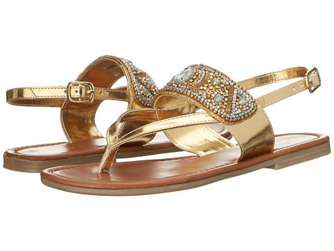 Madden Girl - Raive (Gold Multi) Women's Shoes