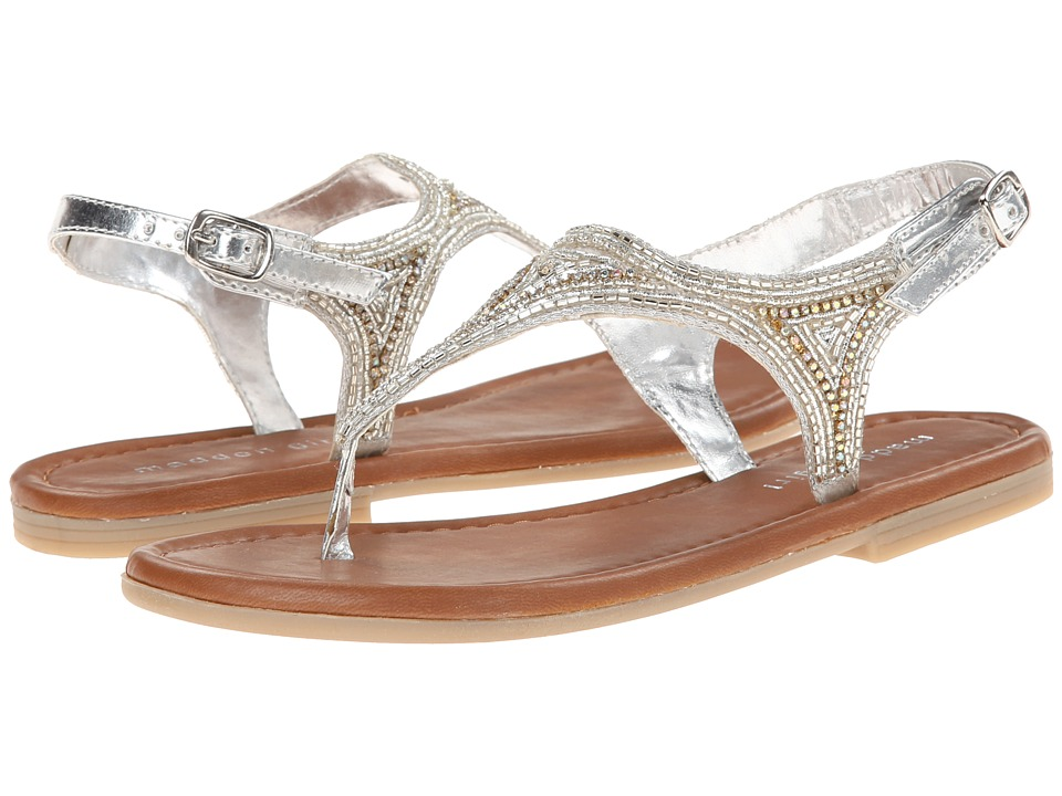 Madden Girl - Riddlee (Silver) Women's Sandals