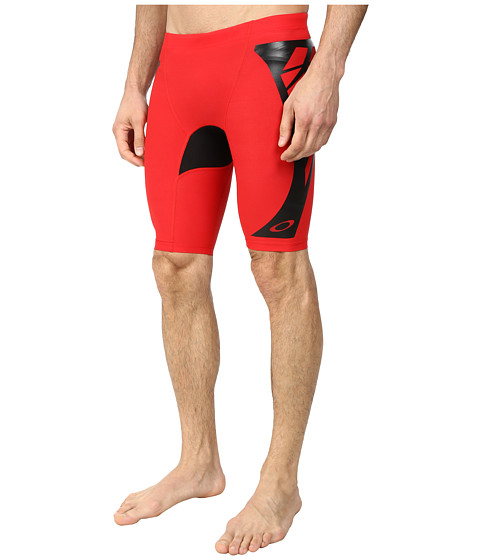 Oakley - Switch Blade LX Rashie Short (Red Line) Men's Swimwear