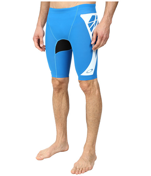 Oakley - Switch Blade LX Rashie Short (Brilliant Blue) Men's Swimwear