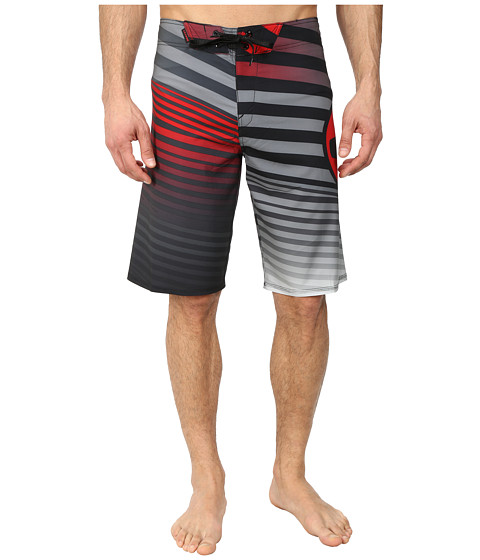 Oakley - The Point 21 Boardshort (Red Line) Men's Swimwear