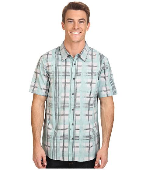 Oakley - Gridlock S/S Woven (Green Slate) Men