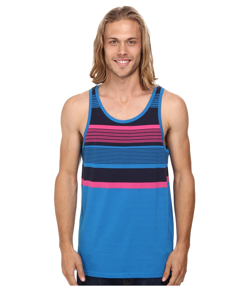 Oakley - Pearl Tank (Electric Blue) Men's Sleeveless