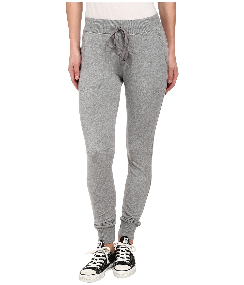 Mod-o-doc - Cotton Modal Fleece Ribbed Pull-On Sweatpant (Granite Heather) Women's Casual Pants