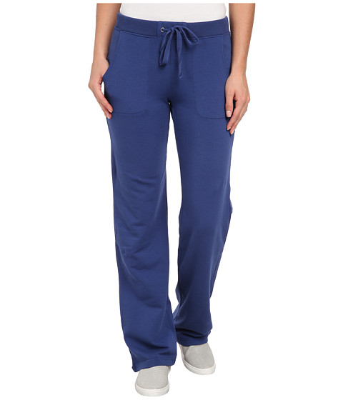 Mod-o-doc - Cotton Modal Fleece Straight Leg Pant (Deep Sea) Women's Casual Pants