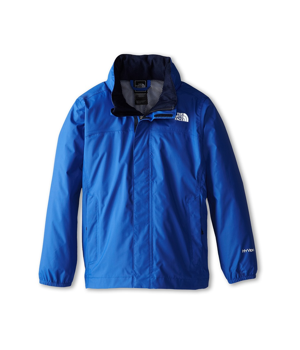 The North Face Kids - Resolve Reflective Jacket (Little Kids/Big Kids) (Monster Blue) Boy
