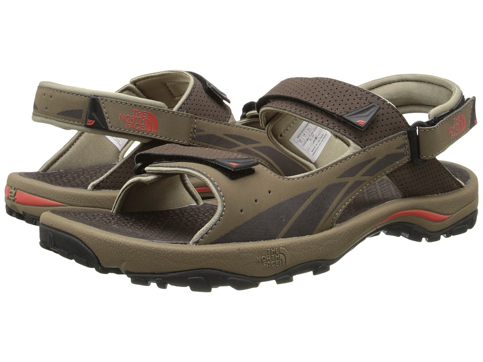 The North Face - Storm Sandal (Demitasse Brown/Zion Orange) Men