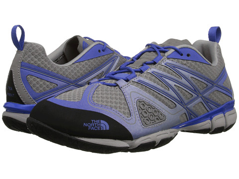The North Face - Ultra Current (Q-Silver Grey/Amparo Blue) Women's Cross Training Shoes