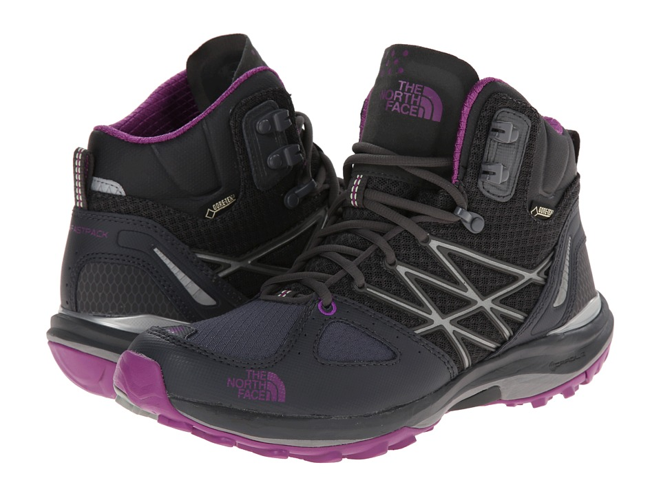 The North Face - Ultra Fastpack Mid GTX (Dark Shadow Grey/Byzantium Purple) Women's Hiking Boots
