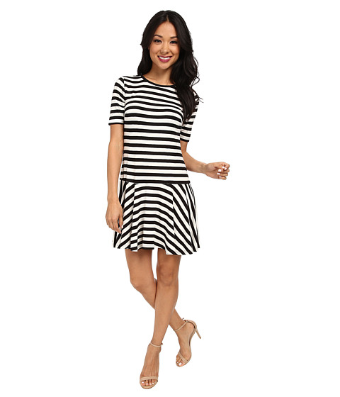 Trina Turk - Mason Dress (Black/White) Women