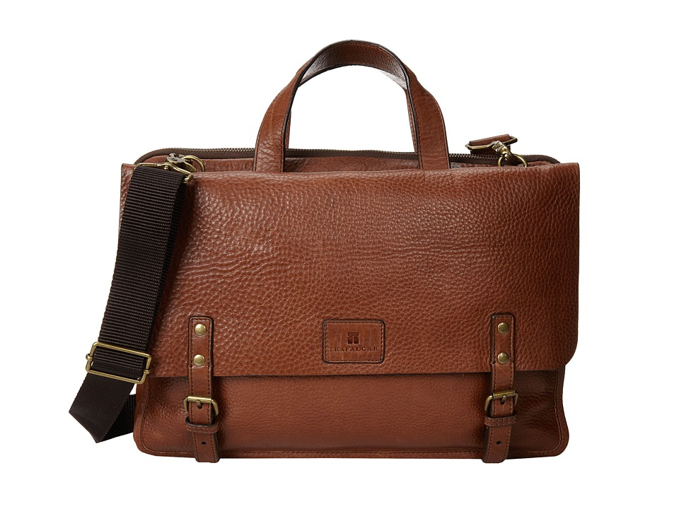 Trafalgar - Murray Hill Brief (Brown) Briefcase Bags