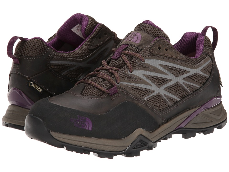 The North Face - Hedgehog Hike GTX (Weimaraner Brown/Black Currant Purple) Women's Cross Training Shoes