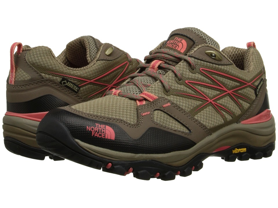 The North Face - Hedgehog Fastpack GTX (Cub Brown/Fiesta Red) Women's Shoes